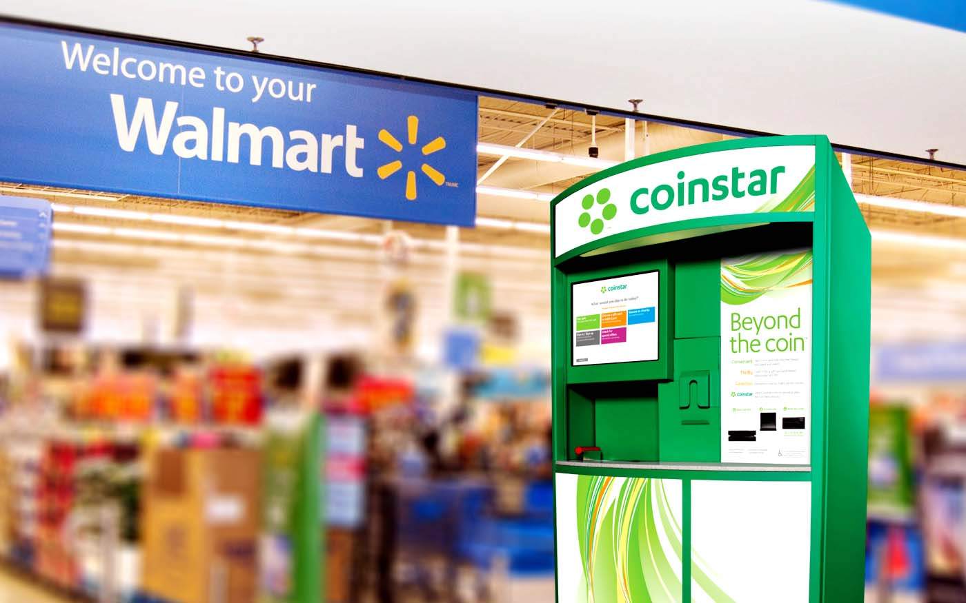 Does Walmart Have A Coinstar
